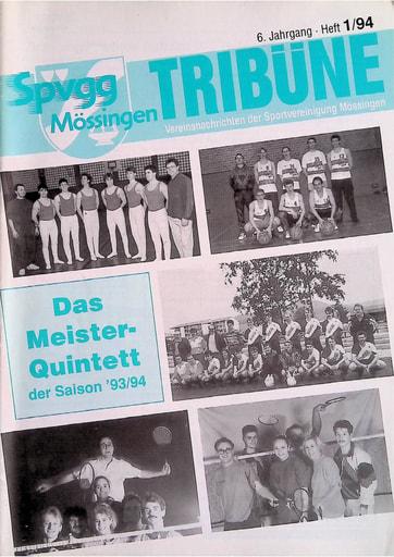 Spvgg Tribüne 1994-1