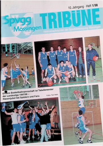 Spvgg Tribüne 1998-1